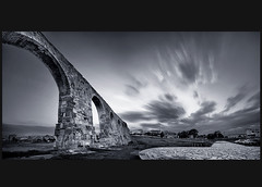 (CostaDinos) Tags: old sky clouds long exposure trails cyprus aqueduct kamares larnaca larnaka