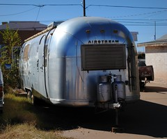 Airstream in Winslow, Arizona (Cragin Spring) Tags: arizona silver az airstream camper winslow winslowarizona rt66 winslowaz