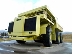 World's Largest Truck - 1973 Terex Titan 33-19 dump truck (dave_7) Tags: truck bc dumptruck dump mining titan 1973 sparwood terex 3319