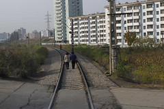 Pyongyang railway (xveair) Tags: old city party people tower monument architecture bronze river workers cabin war day republic view kim stadium military air south airplanes north may social korea il communist un korean seoul fields socialist roads reconciliation democratic dmz founding frontier stalin jong avions tupolev pyongyang staline sung arirang koryo juche illyushin kaesong prsident taedong hamhung konomark
