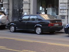Alfa Romeo 75 3.0 QV (Skitmeister) Tags: serbia belgrade beograd srbija belgrado serbien belehrad srpsko serbija   servi carspot skitmeister