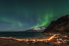 Northern light 1st of Dec. 2012 (Per Ivar Somby) Tags: light arctic auroraborealis troms nordlys kvalya northernlight grtfjorden