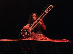 Songlines Music Awards 2012 Winners' Concert (2012) 10 - Anoushka Shankar (KM's Live Music shots) Tags: india barbican worldmusic flamenco sitar anoushkashankar hindustanimusic songlinesawardswinnersconcert