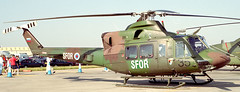 Bell 412EP Slovenian AF Fairford 99 (joolsgriff) Tags: bell 1999 slovenia sfor fairford 412 riat slovenianairforce