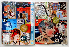 Forever36 (deLoto) Tags: art collage paper handmade journal soul papel recortar journaling collaging
