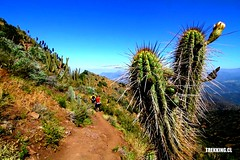 Trekking Nocturno Altos del Naranjo (Trekking.cl) Tags: chile santiago trekking fun outdoors friend backpacking enjoy andes turismo cordillera couchsurfing tripadvisor hostelworldcom hostelbookerscom