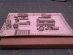 Pallet Town 04 ((>'o')>_WA-OH) Tags: paper nintendo pikachu pokemon gameboy diorama papercraft 1stgen rby pallettown