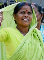 Woman pilgrim (bokage) Tags: woman india women dress pilgrim rishikesh uttarakhand