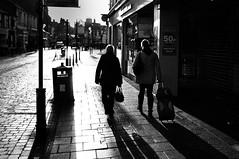 Trollied (Nick Lambert!) Tags: street blackandwhite bw contrast scotland fuji ayr trolly streetscape ayrshire fujix100