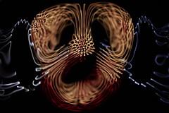 nebula 3 (kelemengabi) Tags: chladni cymatics kymatik gabrielkelemen standingwave asimetry concentric nonlinear nonnewtonian nebula nonequilibrium vortex vibration