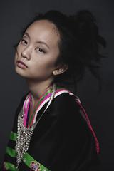 Hmong Girl Portrait (Xue Lo) Tags: hmongwomen hmongphotography hmong dying nature water hmonggirl portrait ethnicfashion photography fashion documentary ethnic wind light