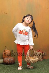 Cool pumpkin applique girl T-shirt for Thanksgiving (babeeniclothing) Tags: applique smocked clothing children girl boy fashion cute love beautiful beauty holiday christmas thanksgiving