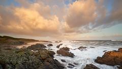 Lever de soleil plage du Loubinou #1 ~ le d'Yeu [ Vende ~ France ] (emvri85) Tags: iledyeu vende mer sea seascape d800e zeiss leefilters sunrise leverdesoleil ctenordouest vagues waves nuage clouds loubinou marehaute hightide