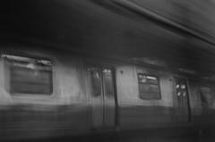 (Chr Mayer) Tags: nycsubway mahattan blackandwhite nyc ubahn manhattanbridge 2016 brooklyn film street