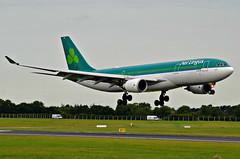 Aer Lingus Airbus A-330 landing at Dublin (Allan Durward) Tags: dublin dublinairport eire ireland airbus a330 a332 aerlingus irish eidw