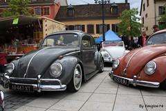 Volkswagen Coccinelle(s) (fangio678) Tags: molsheim cox show 15 05 2016 kfer collection cars classic coche coccinelle vochos voiture voituresanciennes ancienne oldtimer youngtimer allemande volkswagen