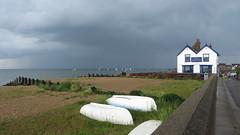 Whitstable (Dubris) Tags: england kent whitstable seaside coast beach cloud neptune pub