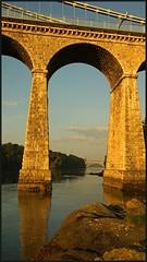 Underneath the arch- (peterdouglas1) Tags: menaistraits menaibridge britanniabridge arches bridges thomastelford