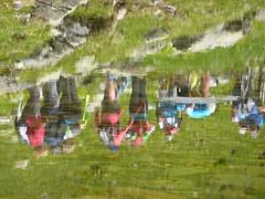 Estiu 2016. Tirol i Liechtenstein. Reflexes amb ventet. (embolic) Tags: austria tirol liechtenstein voralberg gallen malburn augstenberg pfalzerhutte sanktanton ulmer stuben sttutgarter zurs gaschurn montafn silvretta radsattle vermunstausee gargellen lnersee brand seshplana gaflei feldkirch rothis vaduz muntanya senderisme
