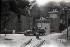 57th Infantry Brigade 032 (rich701) Tags: vintage old negatives ww2 military 1940s blackandwhite worldwartwo bw 44thinfantrydivision newjerseynationalguard 57thinfantrybrigade ng njng fortdix nationalguard newjersey nj njarng