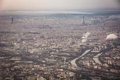 HOME (ole) Tags: paris france europe eiffel tower montparnasse aerial view rive seine