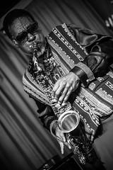 Knoel Scott & Jair-Rohm Parker Wells (agataurbaniak) Tags: knoelscott jairrohmparkerwells sunraarkestra bass doublebass saxophone flute wind brightonalternativejazzfestival fundraiser2 theverdict live gig concert performance event music jazz improv freeimprov freejazz brighton uk unitedkingdom concertphotography eventphotography agataurbaniak 2016 leica m monochrom leicamonochrom typ246 type246 246 monochromatic blackandwhite summicronm summicron 90mm 90 90mm2 leitz