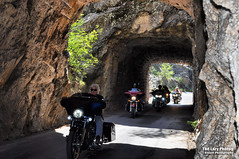 Aug 8 2016 - Iron Mountain Road tunnel, Black Hills, SD (lazy_photog) Tags: lazy photog elliott photogrpahy black hills south dakota pactola iron mountain road tunnels harley davidson motorcycles 080816sturgisdaythree