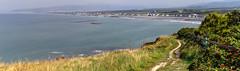 Round Wales Walk 42 - Arriving at Borth (Nikki & Tom) Tags: walescoastpath ceredigion wales uk borth sea coast path track bay