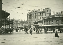 Grenfell Street (City of Adelaide) Tags: adelaide cityofadelaide heritage grenfellstreet townacre141 imperialhotel hotels horses trams bicycles pedestrians