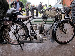 Triumph 1919 550cc (BSMK1SV) Tags: dene motorcycle motor cycle ride 2016 newcastle vintage veteran vmcc beamish discovery museum triumph h 550cc 1919
