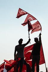 IMG_0612.JPG (esintu) Tags: silhouette flag rally yenikapi istanbul