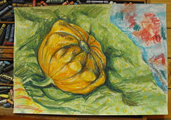 A Yellow Squash ArtWork from some other Autumn , on sale either directly from me or from http://www.artmajeur.com/en/artist/linandara/collection/still-life/1354879/artwork/little-yellow-squash/5067055 priced about $33. Pastel Painting Soft Pastels Art Gol (Almena14) Tags: yellowsquash artwork autumn pastel painting softpastels art goldcolored artandcraft artproduct creativity golden yellow