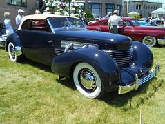 1936 Cord 810 Phaeton (splattergraphics) Tags: 1936 cord 810 phaeton carshow theeleganceathershey hersheypa