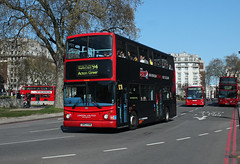 Route 94, London United, TLA21, SN53KHW (Jack Marian) Tags: route94 londonunited tla21 sn53khw dennis dennistrident2 trident alexander alexanderdennis buses bus london actongreen piccadillycircus marblearch