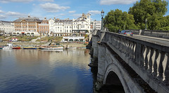 Richmond Bridge (Barry C. Austin) Tags: richmondlock riverthames