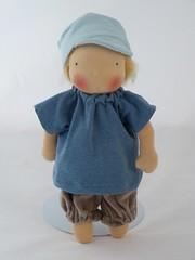 Jannis Michel 1 (belambolo1) Tags: waldorf waldorfdoll waldorfstylde puppen doll doll30cm belambolo stoffpuppe puppe