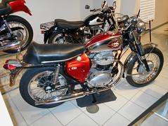 1969 BSA A65L Lightning (splattergraphics) Tags: 1969 bsa a65l lightning motorcycle museum exhibit modsvsrockers aacamuseum antiqueautomobileclubofamerica hersheypa