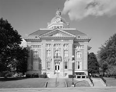 Giles County Courthouse - Pulaski, TN (jhunter!) Tags: chamonix045f1 ilfordfp4 nikon90mmf8nikkorsw rodinal