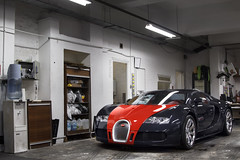 Hermes. (Alex Penfold) Tags: blue red london jack garage bugatti hermes barclays veyron