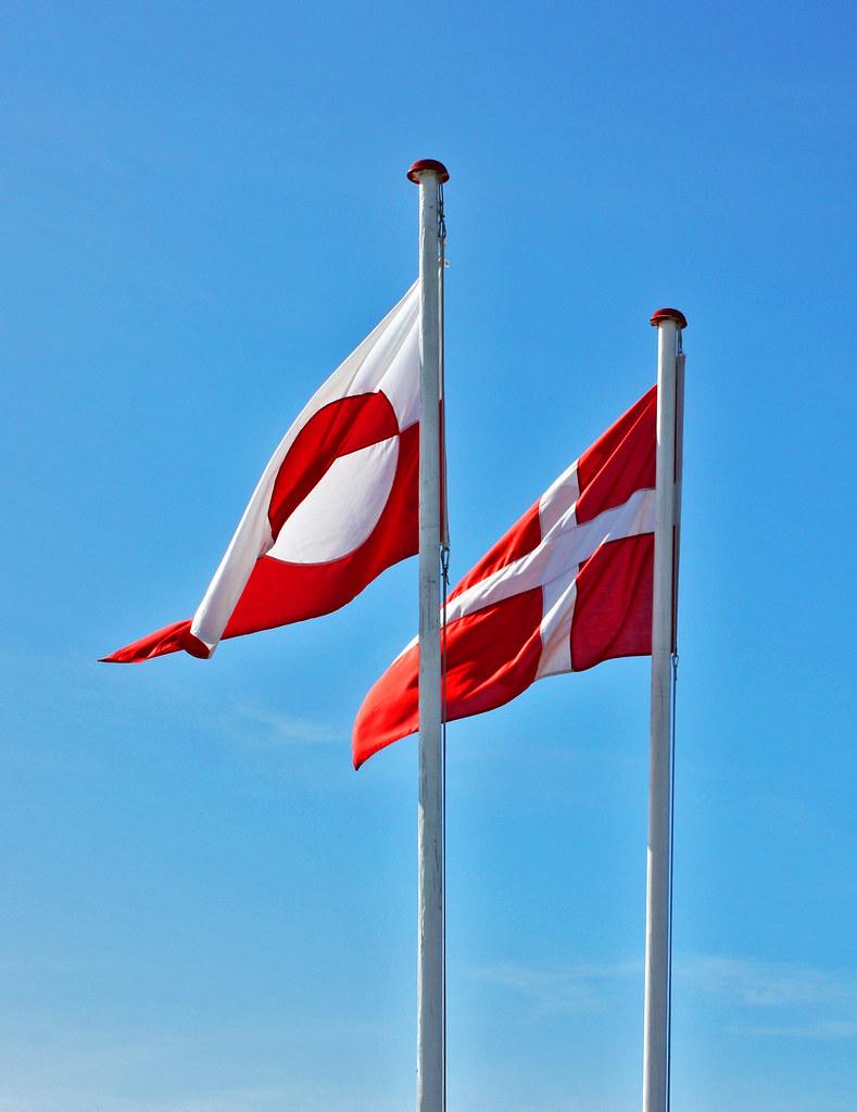 denmark greenland flag flickr