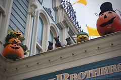 The Ghosts of MainStreet (ThatDisneyLover) Tags: usa paris halloween shopping disneyland pumpkins decoration disney resort nighttime shops characters ghosts 2012 mainstreetusa halloweendecoration oct2012