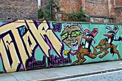 Liverpool (8333696) Tags: street urban streetart art wall liverpool tin graffiti mural paint artist grand can spray rolf national kangaroo spraypaint harris graff aerosol