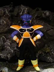 Cui (ridureyu1) Tags: anime toy toys actionfigure purple db kiwi dragonball dragonballz fishface goku saiyan rival dbz henchman dragonballgt songoku dragonballs cui akiratoriyama cannonfodder toyphotography dbgt flunky jfigure gokou sonycybershotdscw220 powerlevels