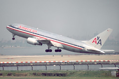 N308AA - 1983 build Boeing B767-223, now operational with First Air as a freighter (egcc) Tags: newyork laguardia boeing americanairlines lga aa 22314 b767 klga b762 b767223 cgkly n308aa