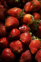 Strawberry (ramnath bhat) Tags: travel red india fruits vertical editorial mahabaleshwar pune strawbery gettyimages digitalimage digitalphotography stockphotography canon400d canoneos5dmarkii ramnathbhat