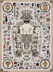 Maha-Kola (pearpicker.) Tags: illustration disaster demon kola maha illness bene rotopol rohlmann