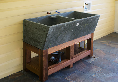 Stone Utility Sink : Studio: Alberene soapstone sink - a photo on Flickriver