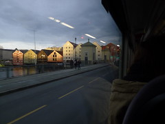 Travelogue (Lise Utne) Tags: trondheim travelogue onthebus trondheimnorway bakkebro liseutne