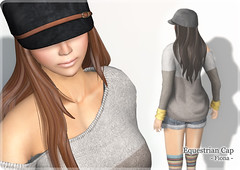[New Arrival] Equestrian Cap - Fiona - (ARGRACE) Tags: fashion hair long sl secondlife argrace equestrianhat equestriancap