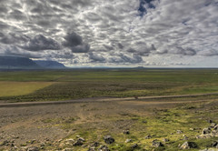 The cyclist (Fil.ippo (on vacation)) Tags: travel panorama landscape island iceland nikon cyclist ciclista viaggi hdr filippo paesaggio islanda sigma1020 d7000 filippobianchi